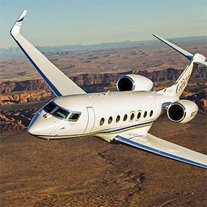 grand jet privé moyen